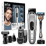 Braun 10-in-1 Multi-Grooming-Kit MGK7020 – Bartpflege Set für Herren mit Barttrimmer,...
