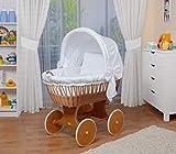WALDIN Baby Stubenwagen-Set mit Ausstattung,XXL,Bollerwagen,komplett,26 Modelle...