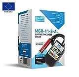 Blue Technology MGR-11-S-AL Schichtdickenmessgerät Lacktester Lackschichtenmesser   Stahl &...