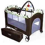 Froggy® Kinderreisebett Babybett Kombi-Reisebett Laufstall inkl. Schlafunterlage,...