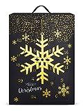 SIX Schmuck-Adventskalender mit Schneeflocken-Design: 24 Überraschungen in Form schöner...