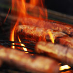 grill mit flamme