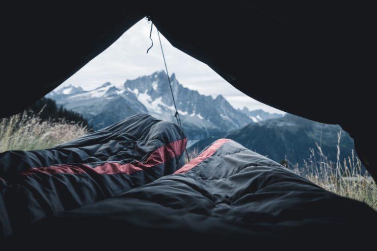 Schlafsack Winter