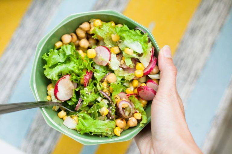 Salat ohne Fleisch
